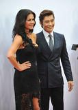 Catherine Zeta-Jones & Byung Hun Lee Stock Photos