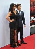 Catherine Zeta-Jones & Byung Hun Lee Royalty Free Stock Images
