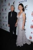 Catherine Zeta-Jones, Michael Douglas Fotos de archivo libres de regalías