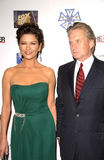 Catherine Zeta-Jones, Michael Douglas Lizenzfreies Stockfoto