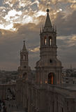 Cathetral Arequipa Royalty Free Stock Photography
