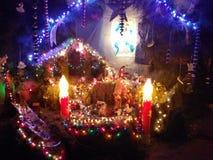 Catholic. Baby jesus sagrado noche stock images