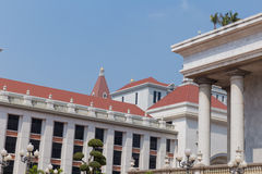 Catholic buildings. In abac universiry thailand Royalty Free Stock Photos