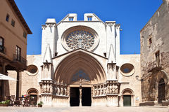 Catholic Cathedral. In Spain. Tarragona Stock Images