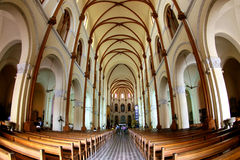 Catholic Cathedral Stock Photo