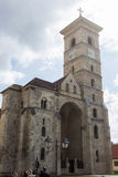 Catholic cathedral in Alba Iulia, Romania Royalty Free Stock Image