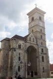 Catholic cathedral in Alba Iulia, Romania Royalty Free Stock Image