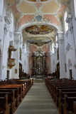 Catholic Cathedral in Arlesheim Royalty Free Stock Image