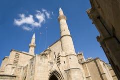 Catholic cathedral of Ayia Sofia, Nicosia royalty free stock images