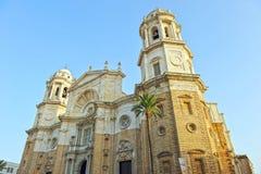 Catholic Cathedral of Cadiz, Andalusia, Spain Royalty Free Stock Photo