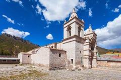 Catholic cathedral, Chivay Stock Photography