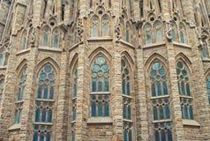 Catholic cathedral close-up Stock Images