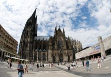 Catholic Cathedral of Cologne,Germany Stock Photo