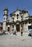 Catholic cathedral in cuba Stock Images