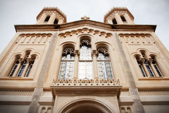 Catholic cathedral in Dubrovnik, Croatia Royalty Free Stock Image