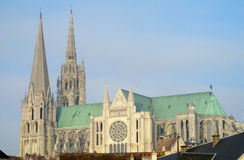 Catholic cathedral in France Royalty Free Stock Photography
