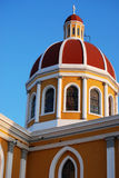 Catholic Cathedral in Granada, Nicaragua Royalty Free Stock Photos
