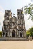 Catholic Cathedral, Hanoi, Vietnam Royalty Free Stock Image