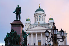 Catholic cathedral in Helsinki Stock Images