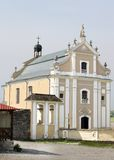Catholic cathedral  in Kamjanets-Podolsk Stock Photography