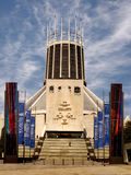 Catholic Cathedral Liverpool stock images