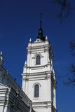 Catholic Cathedral in Ludza Stock Photos