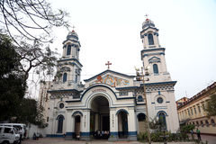 Catholic Cathedral of the Most Holy Rosary in Kolkata Royalty Free Stock Photos