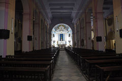 The Catholic Cathedral of the Most Holy Rosary in Kolkata Stock Image