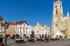 Catholic Cathedral The Name of Mary Church in the City of Novi Sad, Vojvodina, Se