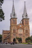 Catholic Cathedral of Notre Dame in Saigon. Royalty Free Stock Photography