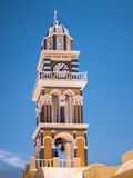 Catholic Cathedral in Santorini, Greece Royalty Free Stock Images
