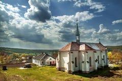 Catholic cathedral. Terebovlja district vilage Loshniv Royalty Free Stock Photo