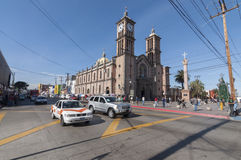 Catholic cathedral in Tijuana Royalty Free Stock Images