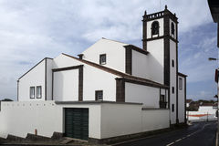 Catholic cathedral in the town of Vila Franca do Campo, São Mig Royalty Free Stock Photo