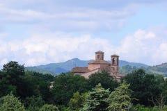 Catholic cathedral in Urbania Stock Photography