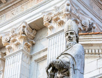 Catholic Cathedral in Urbino, Italy Royalty Free Stock Photography