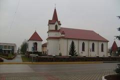 The Catholic Church. Catholic catholic in Belarus Stock Image