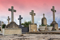 Catholic Cemetery Stock Photography