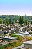 Catholic cemetery Royalty Free Stock Images