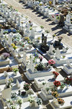 Catholic cemetery in Alentejo, Portugal Stock Photography