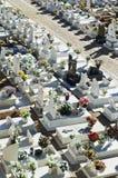 Catholic Cemetery In Alentejo, Portugal Stock Photography