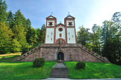 Catholic chapel. Germany architecture Royalty Free Stock Photography