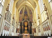Catholic chapel interior in Vienna Royalty Free Stock Image