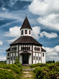 Catholic chapel in Korenov Stock Images