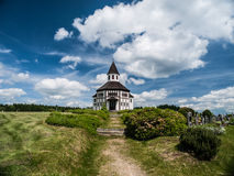 Catholic chapel in Korenov. (Czech Republic Royalty Free Stock Photo