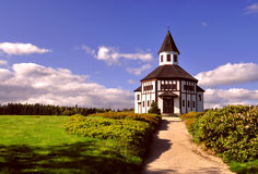 Catholic chapel in Korenov Royalty Free Stock Images