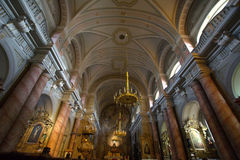 Catholic Chirch, interior picture 3 Royalty Free Stock Images
