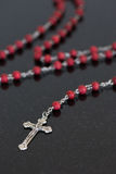 Catholic Christian Rosary Stock Photo