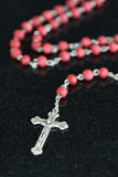 Catholic Christian Rosary Stock Image