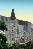 Catholic church. In Seoul, South Korea,Seoul station Royalty Free Stock Photo